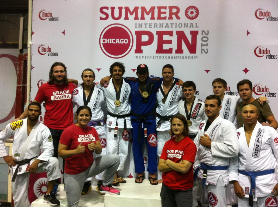 """Gracie Barra JiuJitsu Team Celebrating in Chicago"""