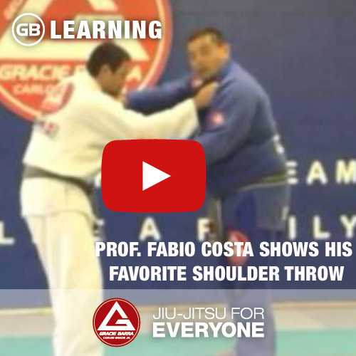 Fabio Costa Shows His Favorite Shoulder Throw