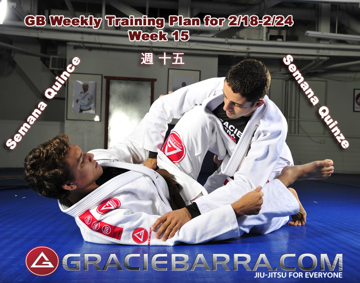 GB Weekly Training Plan 15