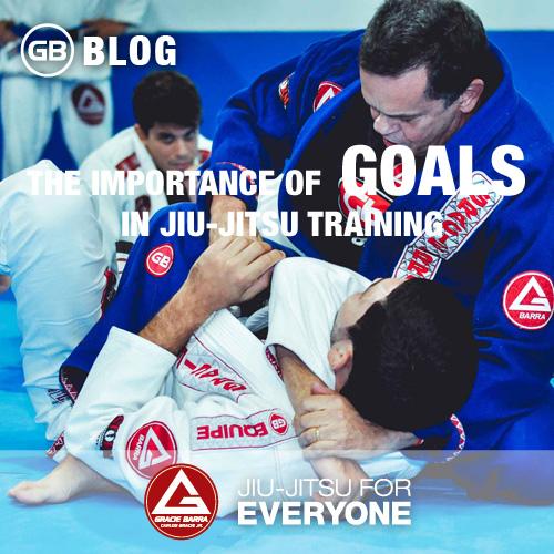 The importance of goals in Jiu-Jitsu training