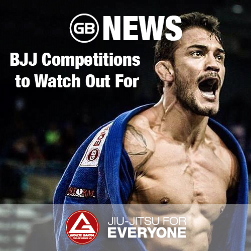 BJJ Competitions to Watch Out For