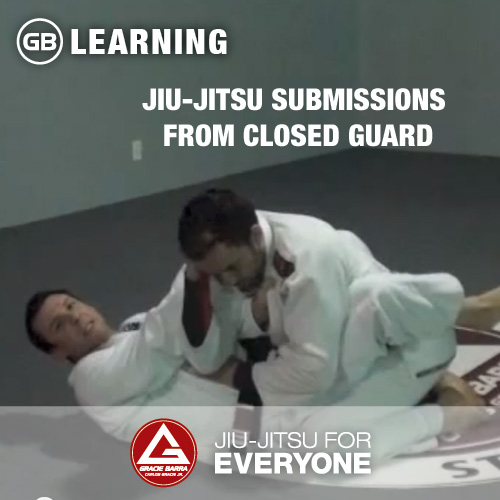 Jiu-Jitsu submissions from closed guard