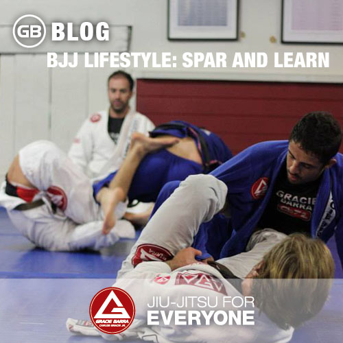 BJJ Lifestyle Spar and Learn
