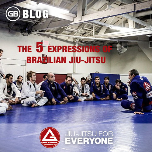 The 5 Expressions of Brazilian Jiu-jitsu