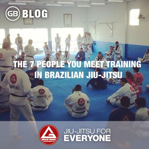The 7 People You Meet Training in Brazilian Jiu-Jitsu