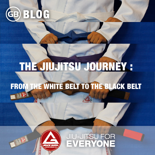 The Jiujitsu journey -From the white belt to the black belt