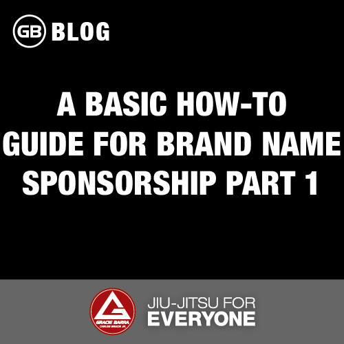 A Basic How-To Guide for Brand Name Sponsorship PART 1