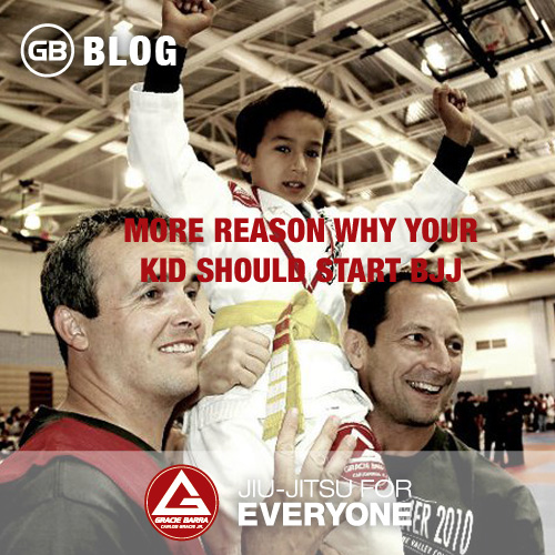 More Reason Why Your Kid Should Start BJJ
