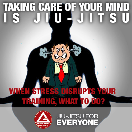 When stress disrupts your training what to do-
