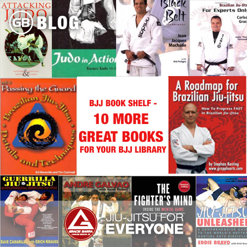 The BJJ Book Shelf - 10 More Great Books for your BJJ Library
