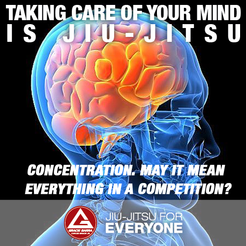 Concentration. May it mean everything in a competition-