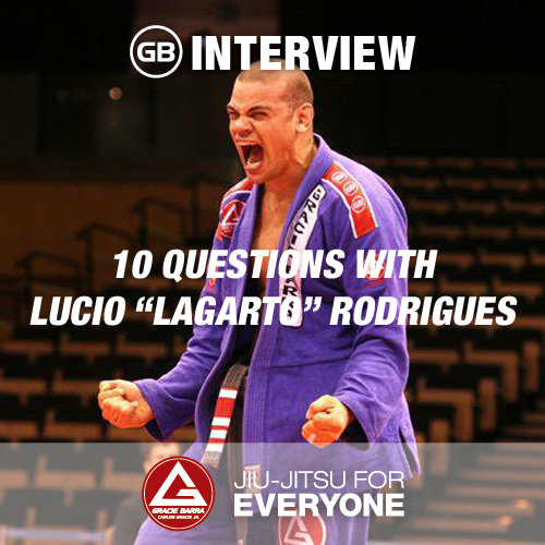 """10 Questions with Lucio """"Lagarto"""" Rodrigues"""