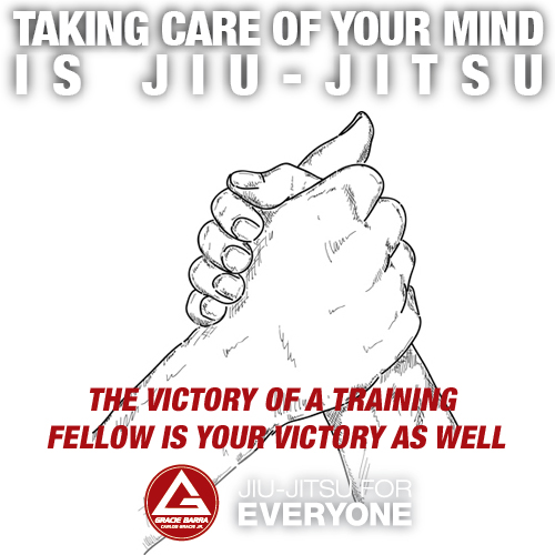 The victory of a training fellow is your victory as well