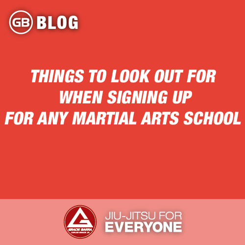 Things to Look Out for When Signing up for Any Martial Arts School