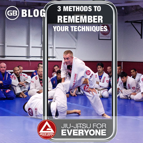 3 Methods to Remember your techniques