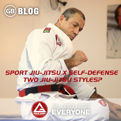 Sport Jiu-Jitsu X Self-Defense - Two jiu-jitsu styles-