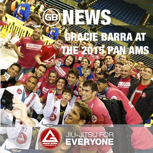 Gracie Barra at the 2015 Pan Ams