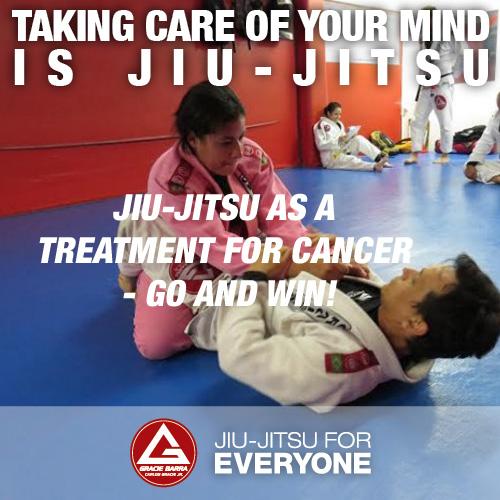 Jiu-jitsu as a treatment for cancer - go and win!