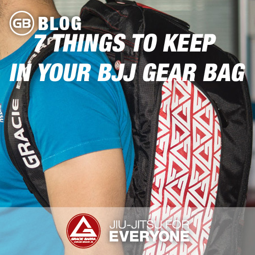 7 Things To Keep In Your BJJ Gear Bag