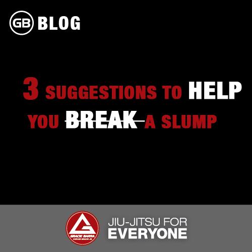 3 Suggestions to Help You Break a Slump
