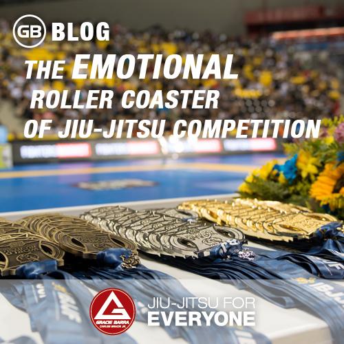 The Emotional Roller Coaster of Jiu-jitsu Competition