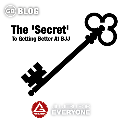 The 'Secret' To Getting Better At BJJ