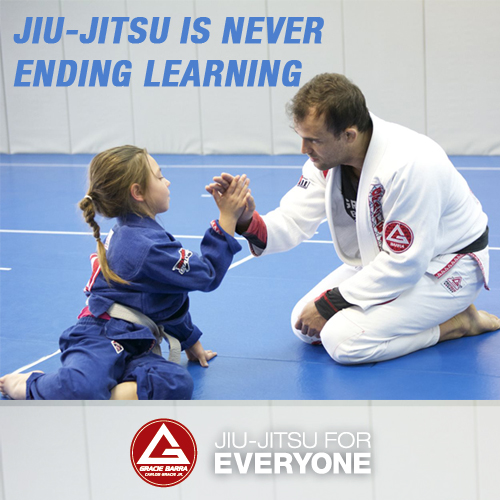 Jiu-Jitsu is never ending learning