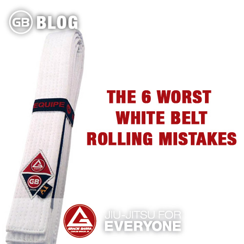 The 6 worst white belt rolling mistakes