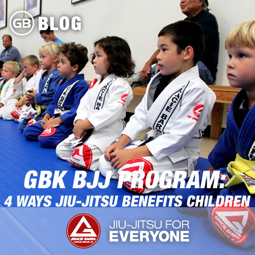 GBK Bjj Program- 4 Ways Jiu-jitsu Benefits Children