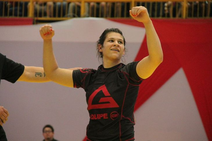 2015 ADCC Champ Ana Laura Cordeiro