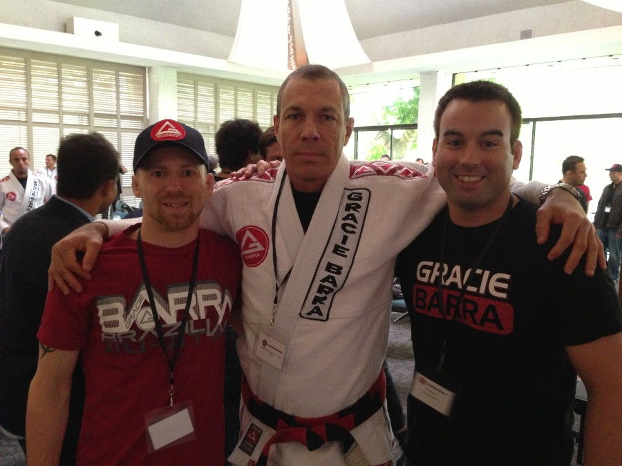 James , Master Carlos Gracie Jr. and Ryan Ritcey