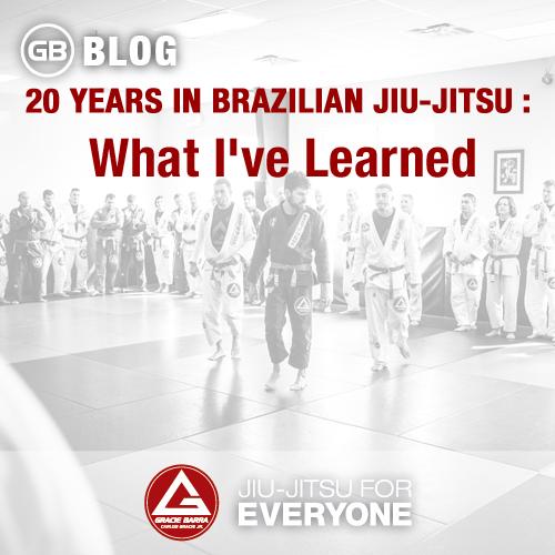 20 years in Brazilian Jiu-Jitsu - What I've Learned