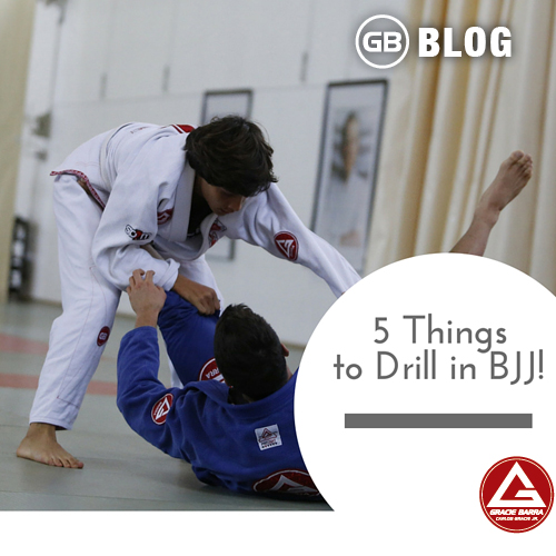 5 things to drill in bjj