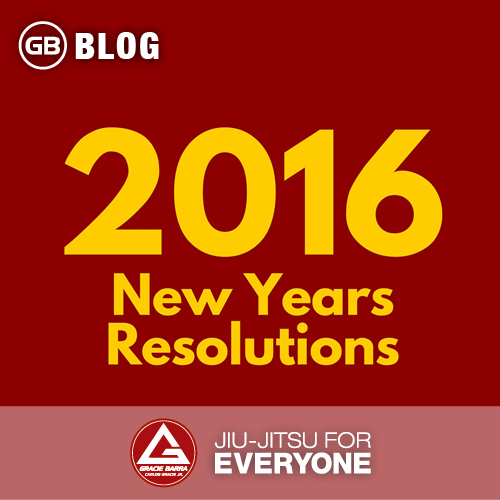 2016 - New Years Resolutions