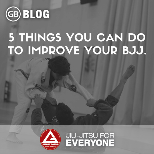 5 Things You Can Do To Improve Your Bjj