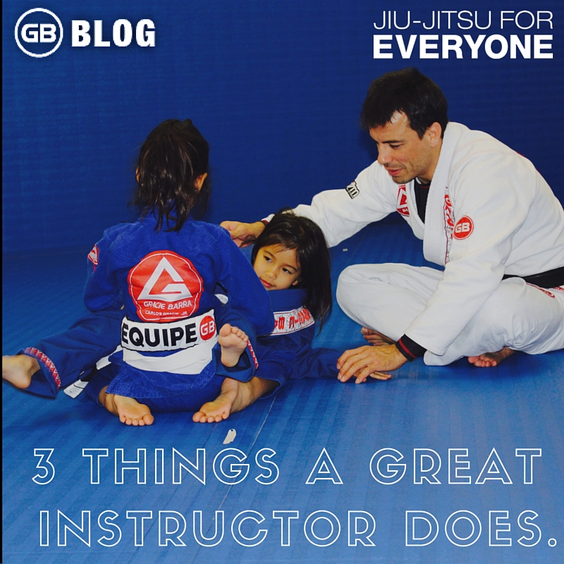 3 Things a Great Instructor Does