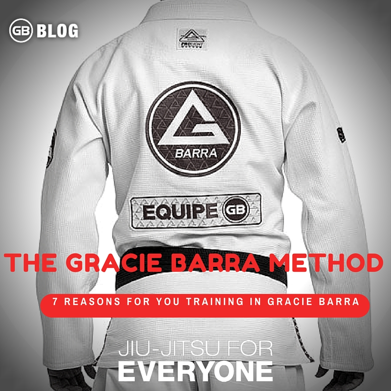 7 reasons for you training in Gracie Barra