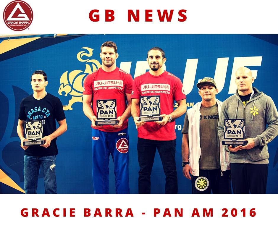 Gracie Barra - Pan Am 2016