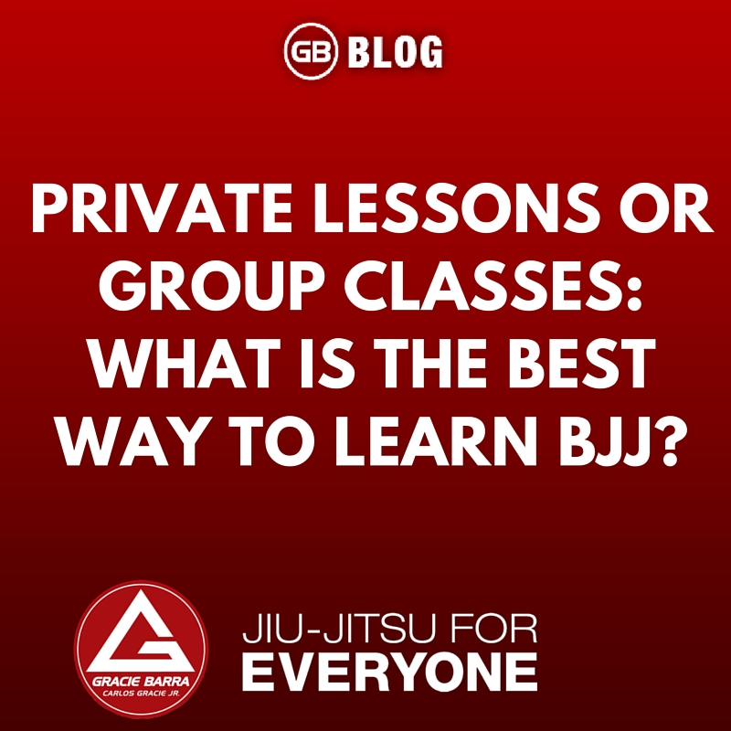 Private Lessons or Group Classes The Best Way To Learn Bjj