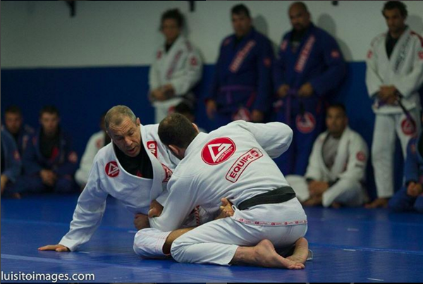 carlos gracie barra training camp