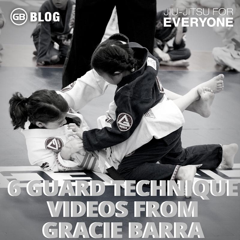 6 Guard Technique Videos from Gracie Barra