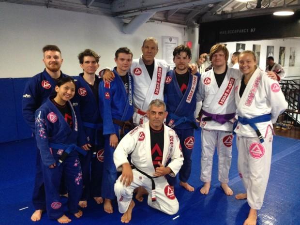 Mestre Carlos Gracie Jr. -Max Goldberg II - Professor Eduardo de Lima and GB Flagstaff Team at HQ- Irvine