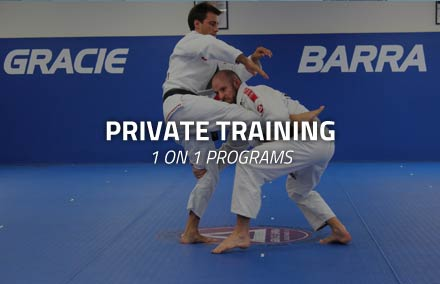Gracie Barra Irvine Private Training
