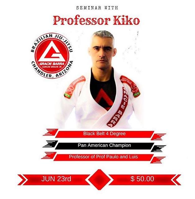 Professor Kiko seminar flyer