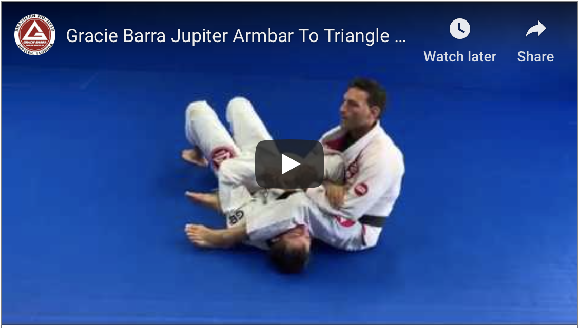 Armbar To Triangle Combo From S-Mount(Video)