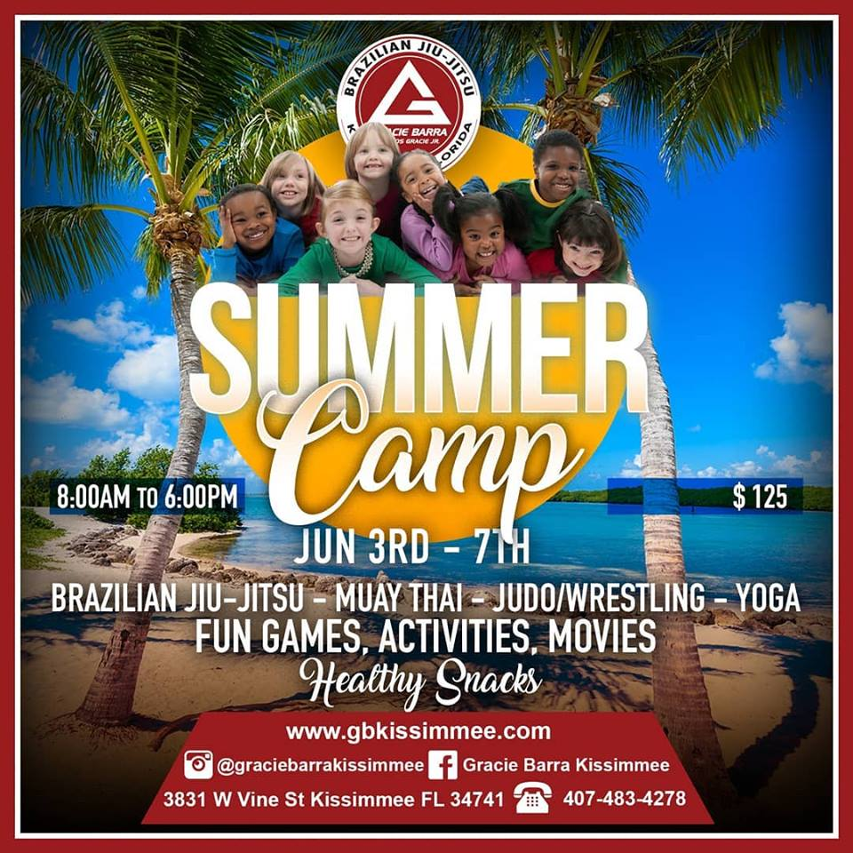 GRACIE BARRA KISSIMMEE SUMMER CAMP!