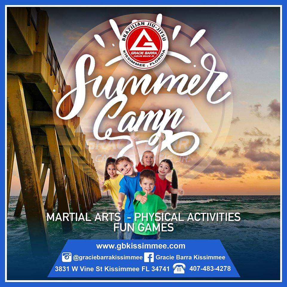 GRACIE BARRA JIU-JITSU 2020 SUMMER CAMP!