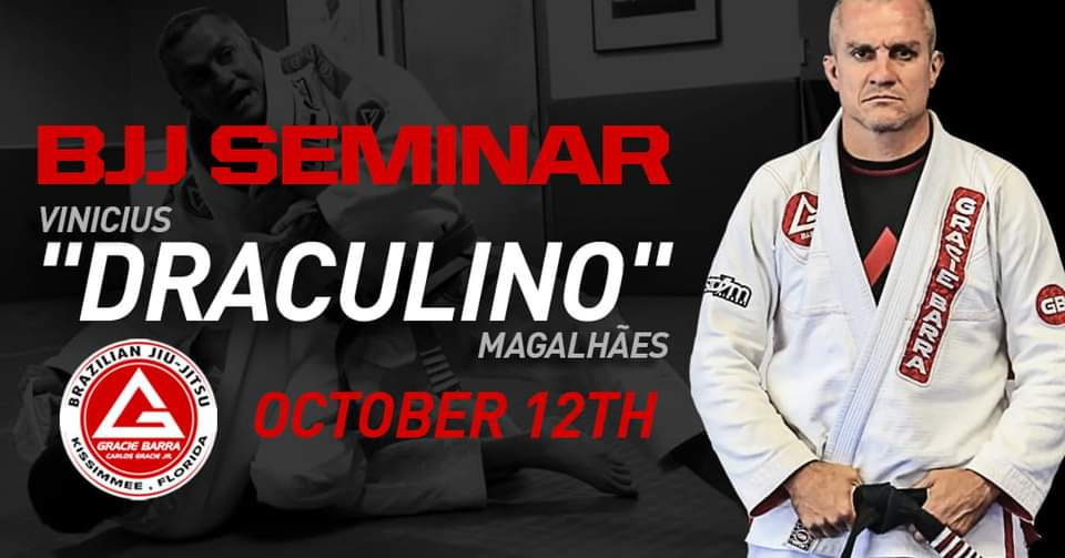 DRACULINO BJJ SEMINAR – OCT 12TH, 2020