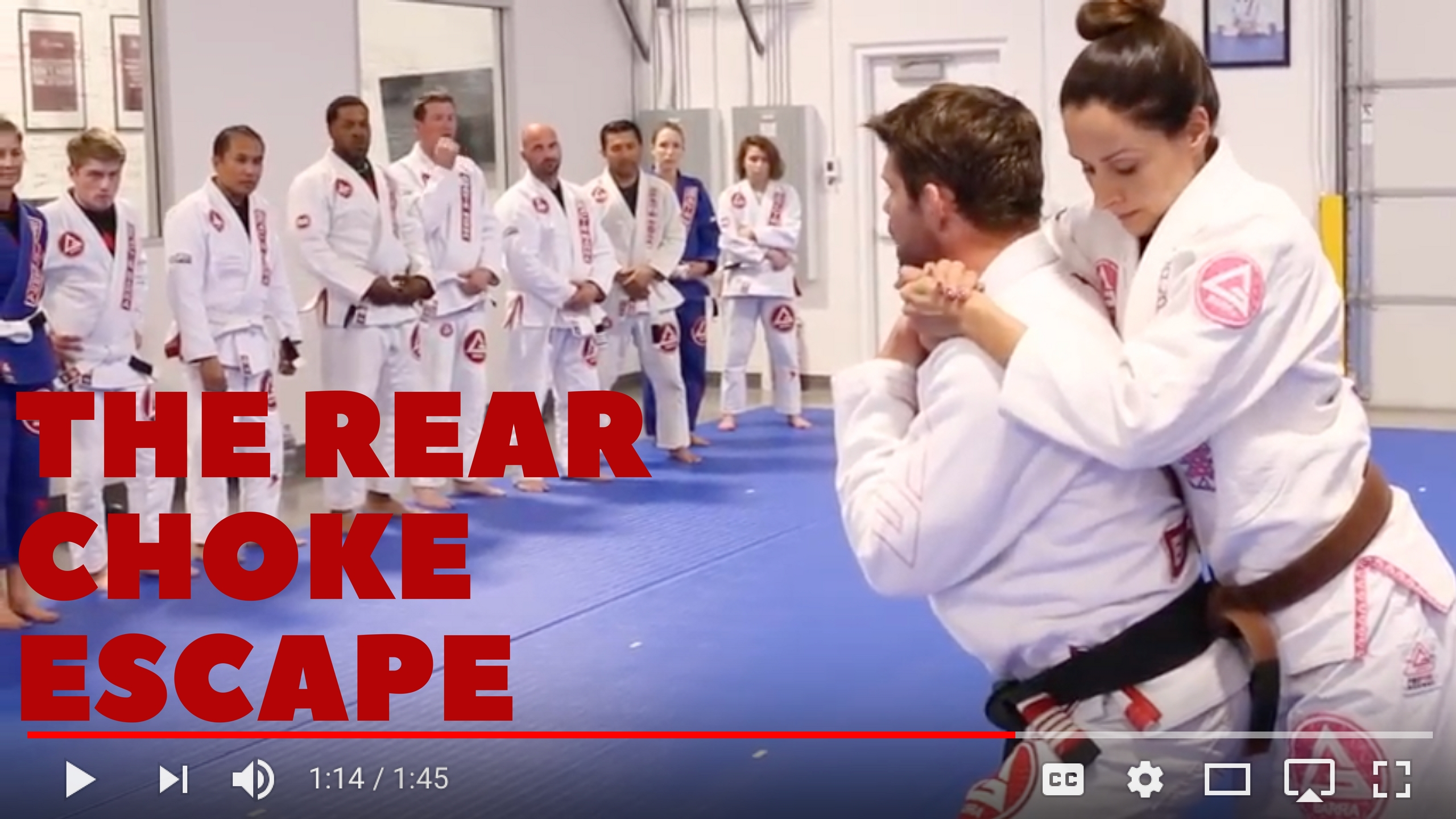 Technique Friday: Escaping From the Rear Choke