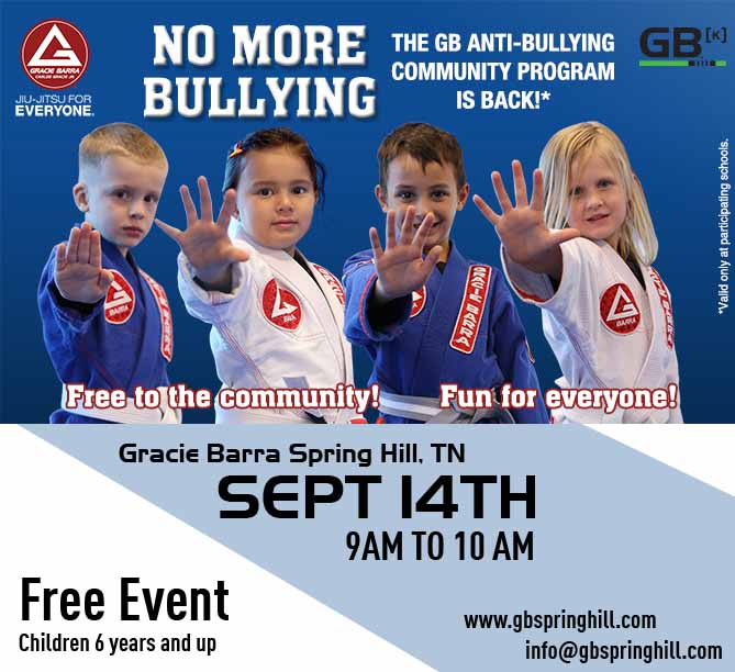 FREE Anti-Bullying Community Program